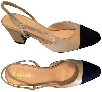 Black Slingback Dress Shoes