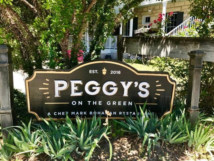 Peggys sign